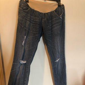Indigo Blue maternity jeans - size small
